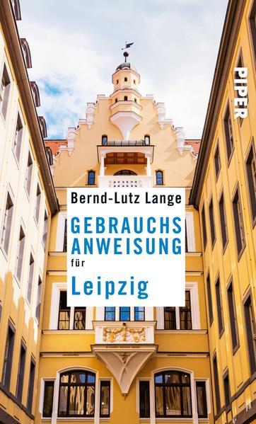 Gebrauchsanweisung für Leipzig - Coverbild