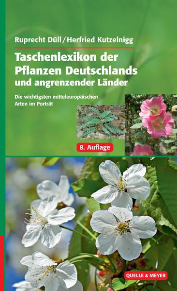 Taschenlexikon der Pflanzen Deutschlands und angrenzender Länder - Coverbild