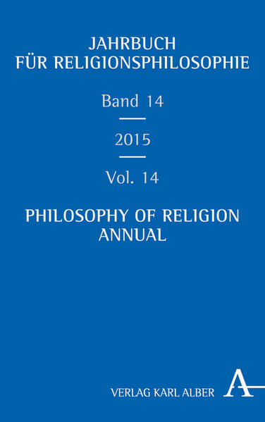 Jahrbuch für Religionsphilosophie / Philosophy of Religion Annual  - Coverbild