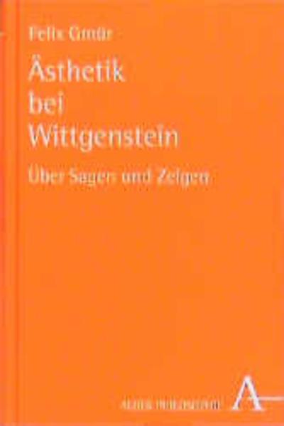 Ästhetik bei Wittgenstein - Coverbild
