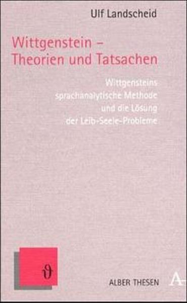 Wittgenstein - Theorien und Tatsachen - Coverbild