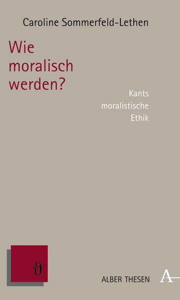 Wie moralisch werden? - Coverbild