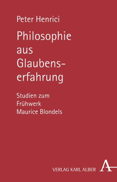 Philosophie aus Glaubenserfahrung - Coverbild