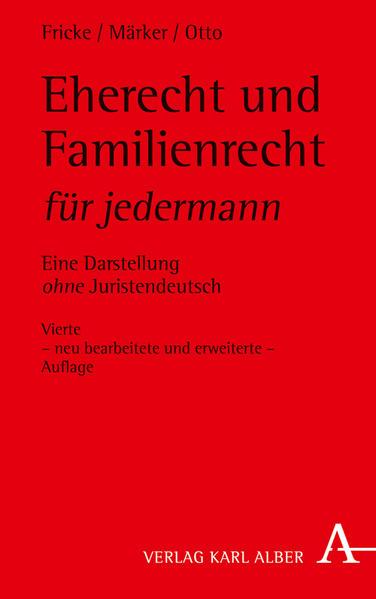 Eherecht und Familienrecht für jedermann - Coverbild