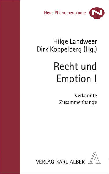 Recht und Emotion I - Coverbild