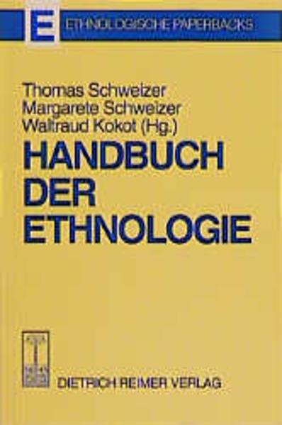 Handbuch der Ethnologie - Coverbild