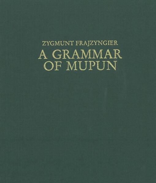 A Grammar of Mupun - Coverbild