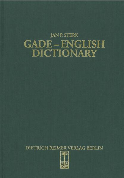 Gade-English Dictionary - Coverbild