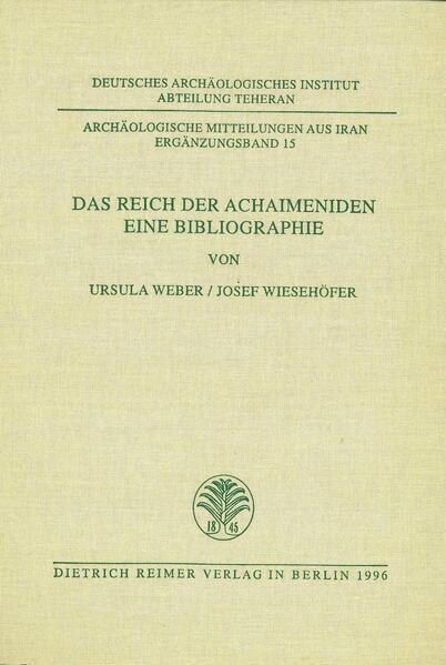 Das Reich der Achaimeniden - Coverbild