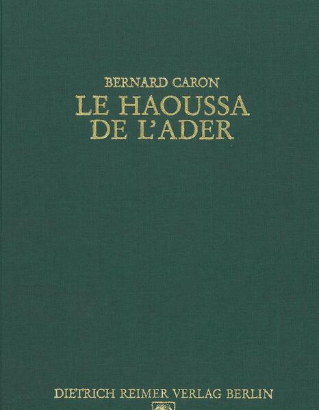 Le Haoussa de l'ader - Coverbild