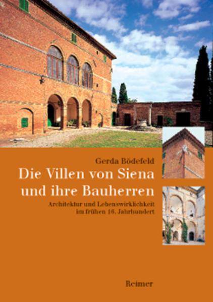Die Villen von Siena und ihre Bauherren - Coverbild