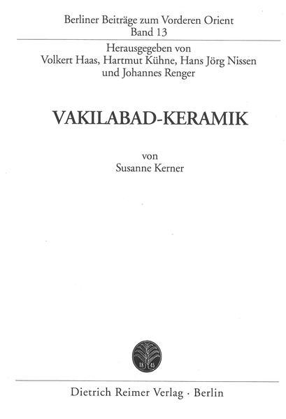 Vakilabad-Keramik - Coverbild