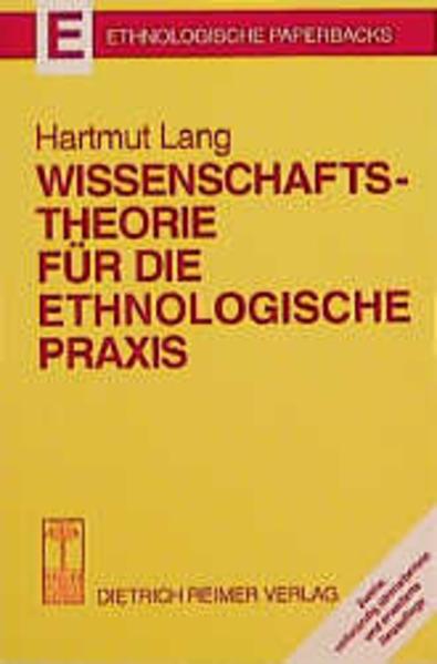 Wissenschaftstheorie für die ethnologische Praxis - Coverbild