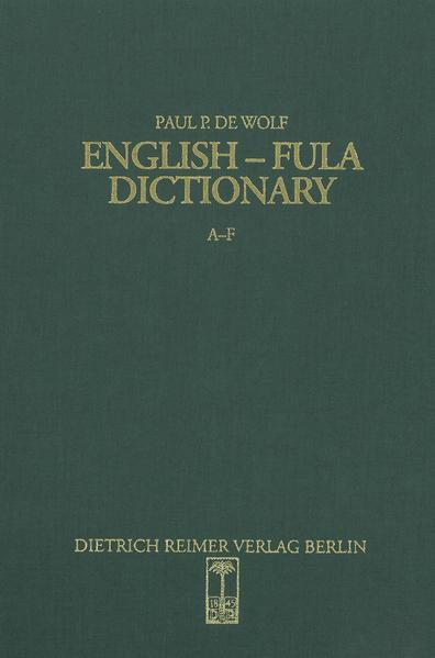 English-Fula Dictionary - Coverbild