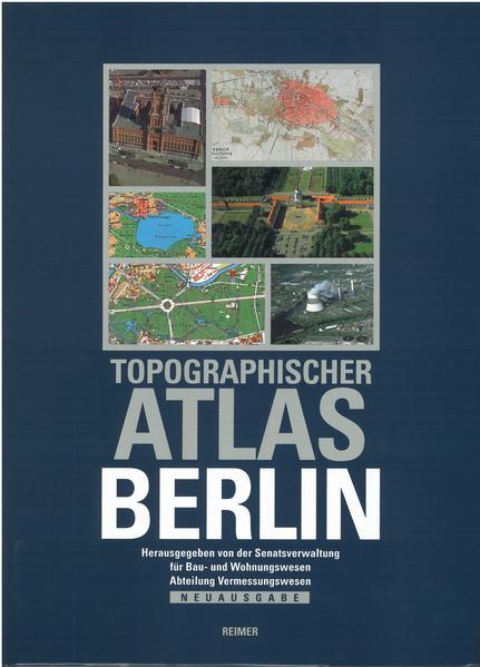 Topographischer Atlas Berlin - Coverbild