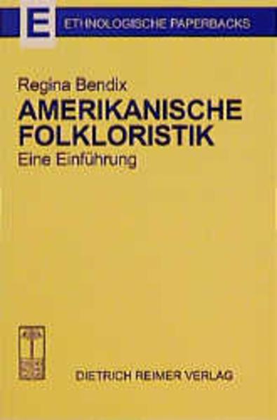 Amerikanische Folkloristik - Coverbild