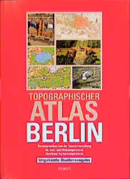 Topographischer Atlas Berlin. Studienausgabe - Coverbild