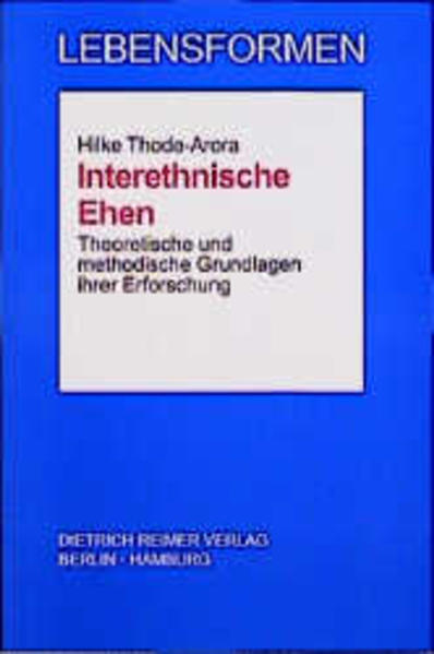 Interethnische Ehen - Coverbild