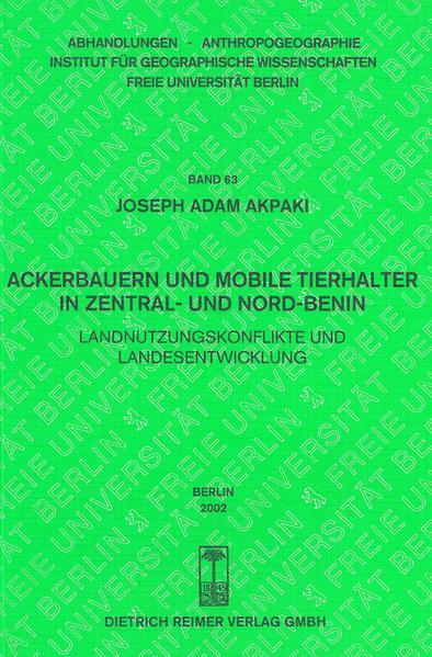 Ackerbauern und mobile Tierhalter in Zentral- und Nordbenin - Coverbild