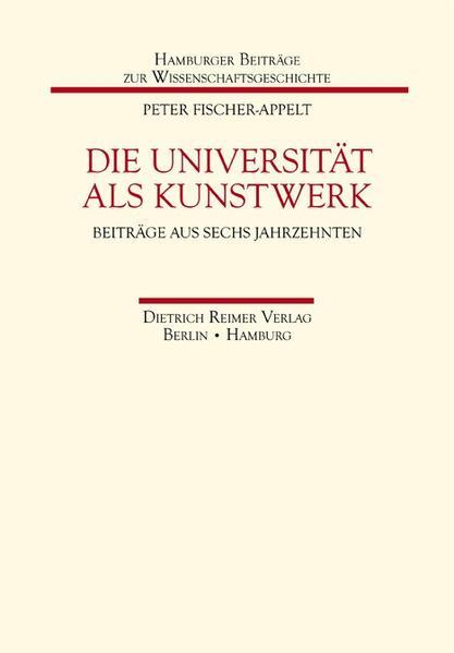 Die Universität als Kunstwerk - Coverbild