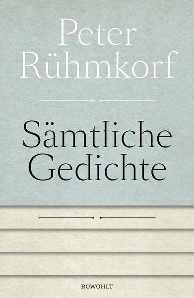 Sämtliche Gedichte 1956 - 2008 - Coverbild