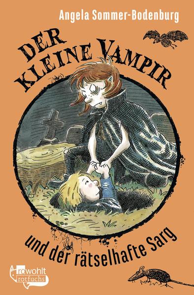 Der kleine Vampir und der rätselhafte Sarg - Coverbild