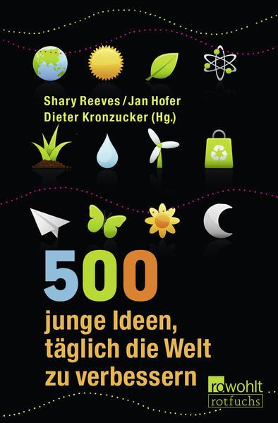 500 junge Ideen, täglich die Welt zu verbessern - Coverbild