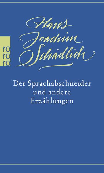 Der Sprachabschneider und andere Erzählungen - Coverbild
