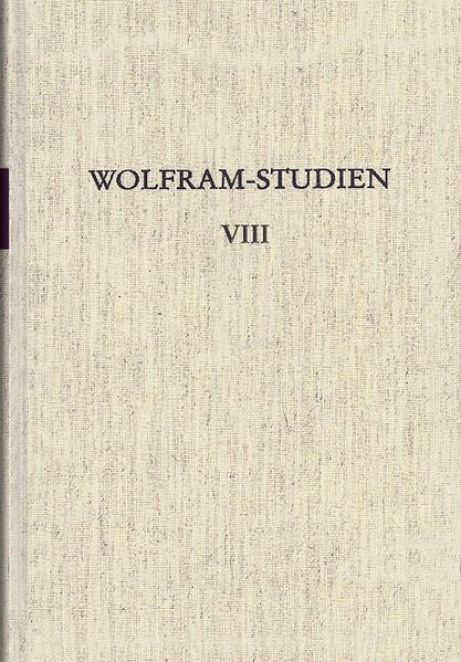 Wolfram-Studien VIII - Coverbild