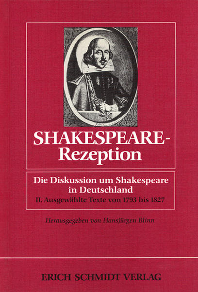 Shakespeare-Rezeption - Coverbild