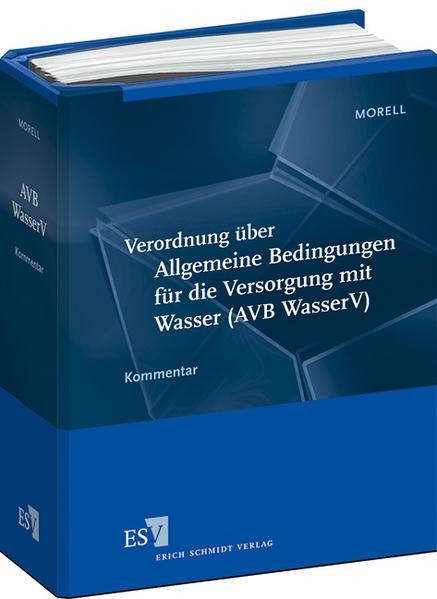 Verordnung über Allgemeine Bedingungen für die Versorgung mit Wasser (AVB WasserV) - Abonnement - Coverbild