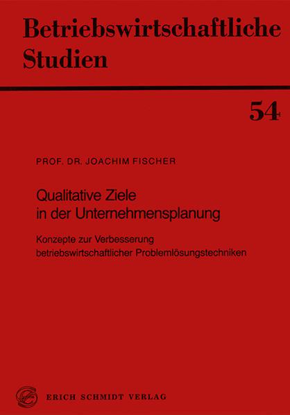 Qualitative Ziele in der Unternehmensplanung - Coverbild