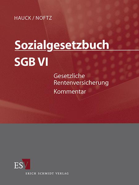 Sozialgesetzbuch (SGB) – Gesamtkommentar / Sozialgesetzbuch (SGB) VI: Gesetzliche Rentenversicherung - Abonnement - Coverbild