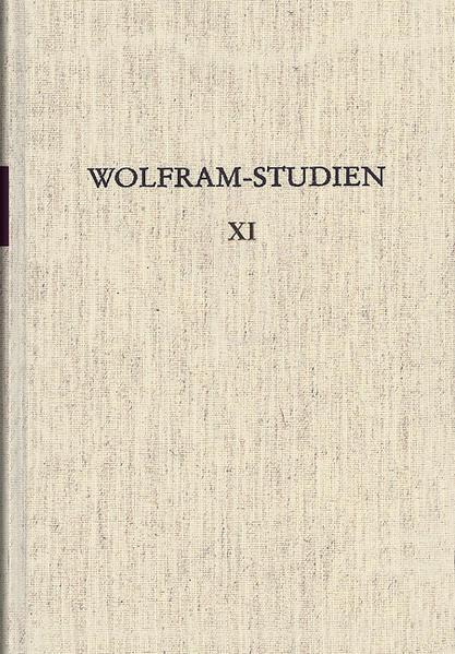Wolfram-Studien XI - Coverbild