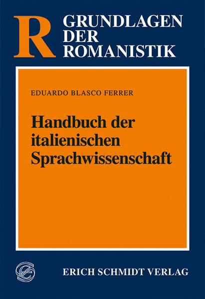 Handbuch der italienischen Sprachwissenschaft - Coverbild
