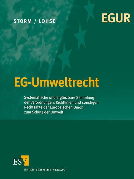 EG-Umweltrecht - Abonnement - Coverbild