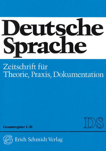 Deutsche Sprache - Coverbild