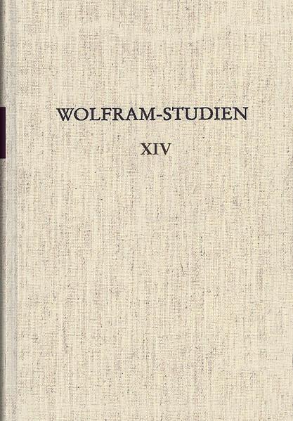 Wolfram-Studien XIV - Coverbild