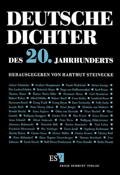 Deutsche Dichter - Ihr Leben und Werk / Deutsche Dichter des 20. Jahrhunderts - Coverbild