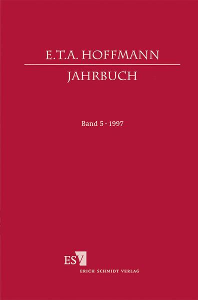 E. T. A. Hoffmann-Jahrbuch 1997 - Coverbild