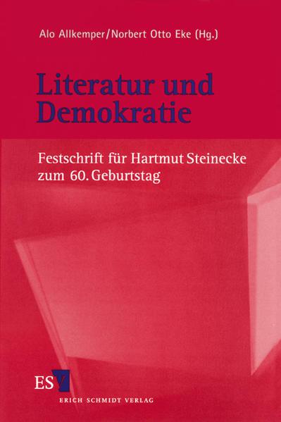 Literatur und Demokratie - Coverbild