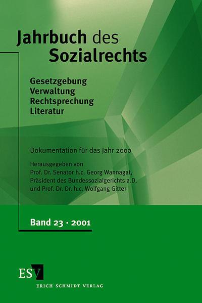 Jahrbuch des Sozialrechts / Jahrbuch des Sozialrechts, Band 23 - Coverbild