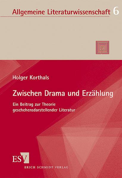 Zwischen Drama und Erzählung - Coverbild