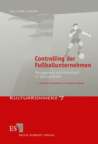 Controlling der Fußballunternehmen - Coverbild