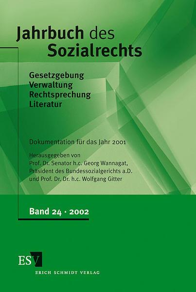 Jahrbuch des Sozialrechts / Jahrbuch des Sozialrechts, Band 24 - Coverbild