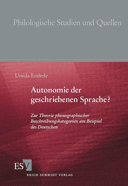 Autonomie der geschriebenen Sprache? - Coverbild