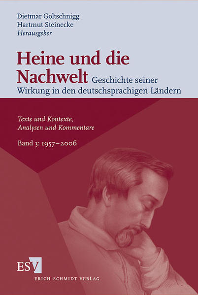 Heine und die Nachwelt - Geschichte seiner Wirkung in den deutschsprachigen Ländern / Heine und die Nachwelt Geschichte seiner Wirkung in den deutschsprachigen Ländern - Coverbild