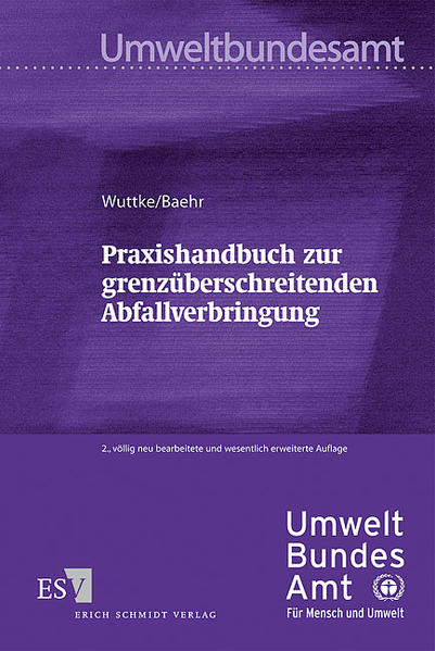 Praxishandbuch zur grenzüberschreitenden Abfallverbringung - Coverbild