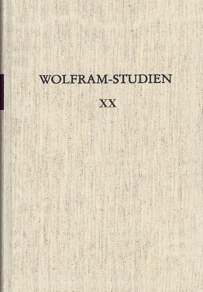 Wolfram-Studien XX - Coverbild