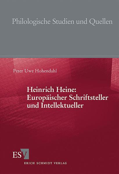 Heinrich Heine: Europäischer Schriftsteller und  Intellektueller - Coverbild